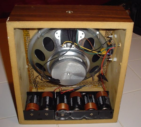 Best Battery Powered Amp Contest